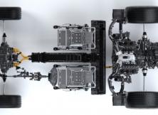 NSX Powertrain - Top View