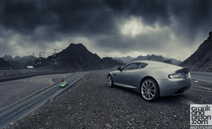 Aston Martin Db9 Bentley Continental Gt Speed Dubai Uae