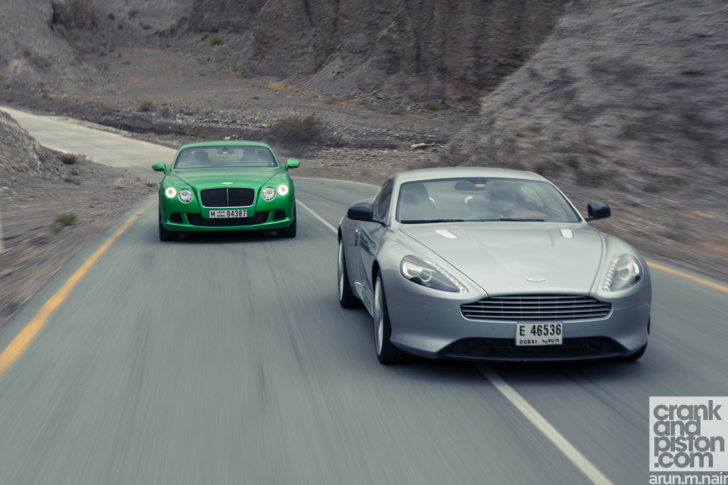 Index Of Media Aston Martin Db9 Vs Bentley Continental Gt Speed