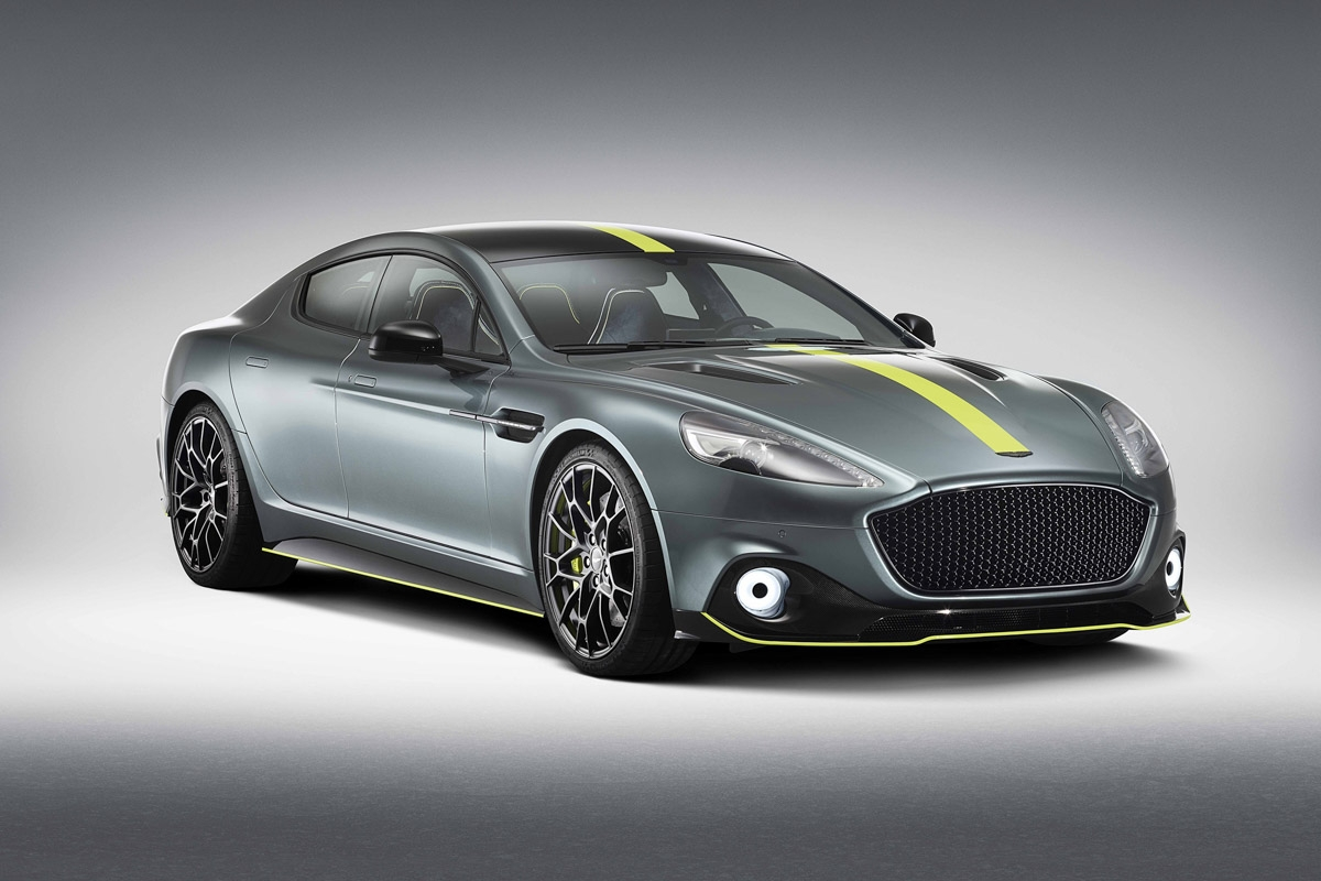 Aston Martin Rapide AMR to launch at Le Mans-1