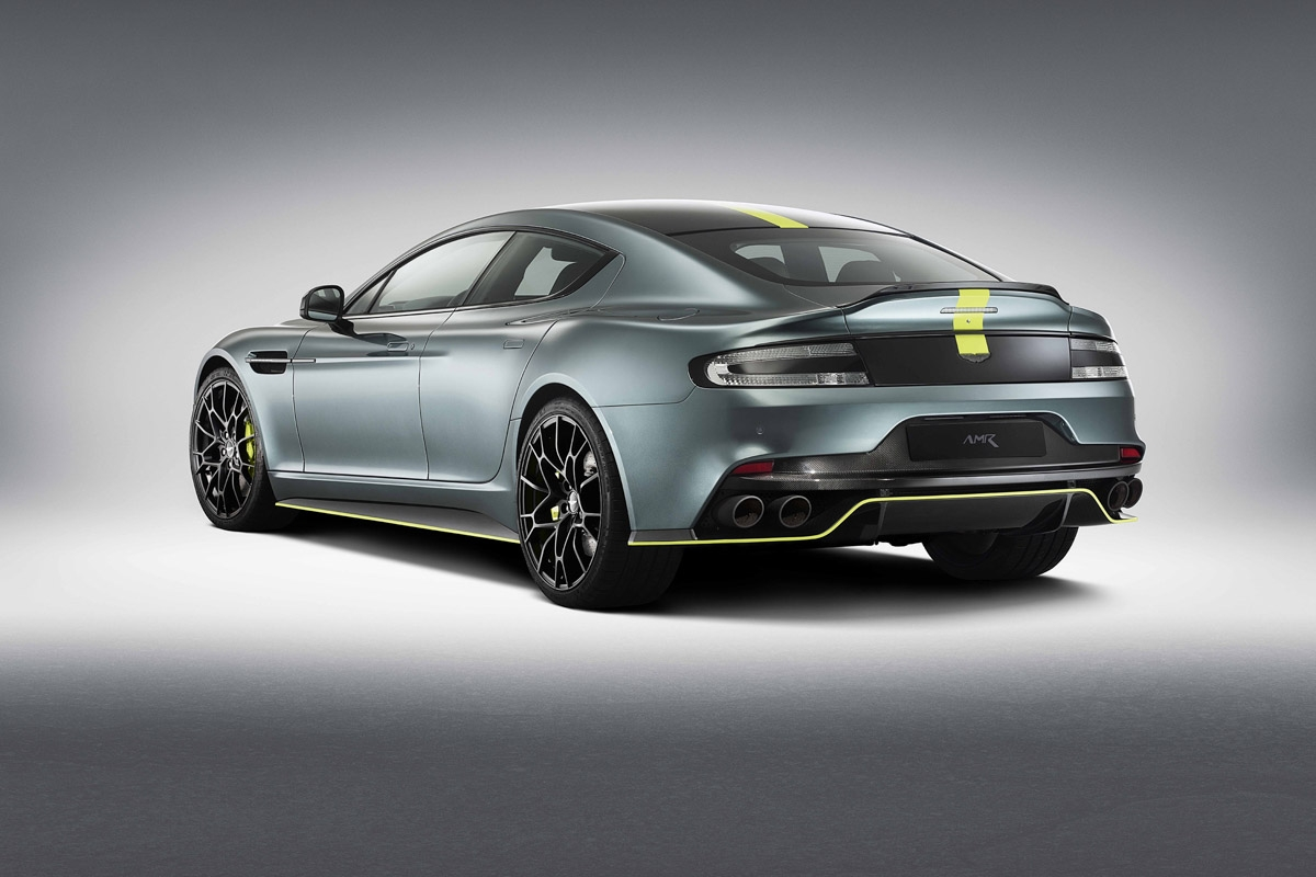 production ready aston martin rapide amr to launch at le mans 2018. Black Bedroom Furniture Sets. Home Design Ideas