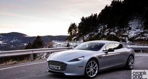 Aston Martin Rapide S. Driven