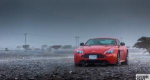Aston Martin V8 Vantage S. Dubai, UAE