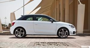 Audi A1 S-Line. Dubai, UAE