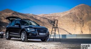 Audi Q5. Behind the scenes