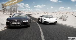 Audi R8 Spyder vs Lamborghini LP 750-4 Performante