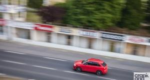 Audi RS Q3.  Road Trip