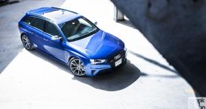 Audi RS4 Avant. Dubai, UAE