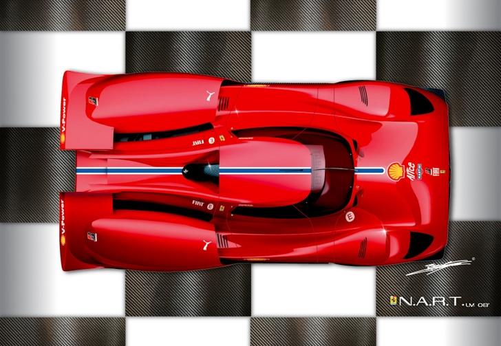 Ferrari N.A.R.T Concept by Benoit Fraylon