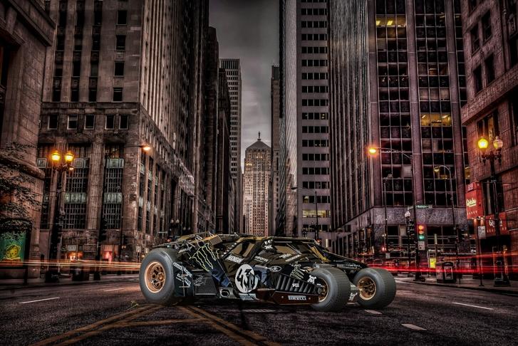 Gymkhana Gotham City