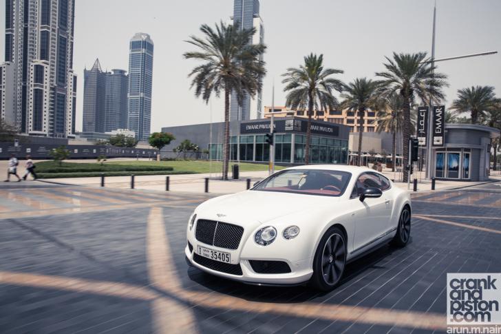 2014 Bentley Continental GT V8 S. The EPIC drive - crankandpiston.com