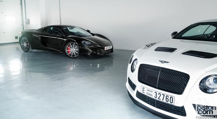 Bentley GT3-R vs McLaren 650S Spider-04