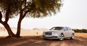 Bentley Flying Spur. UAE