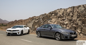 BMW 435i M-Sport vs Chevrolet Camaro ZL1