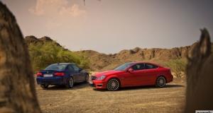 BMW E92 M3 vs Mercedes C63 AMG