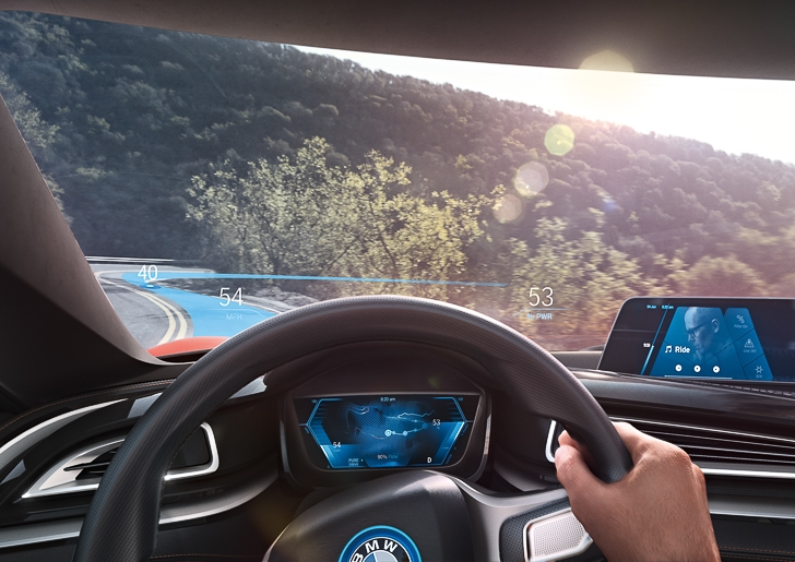 BMW i Vision Future Interaction 12