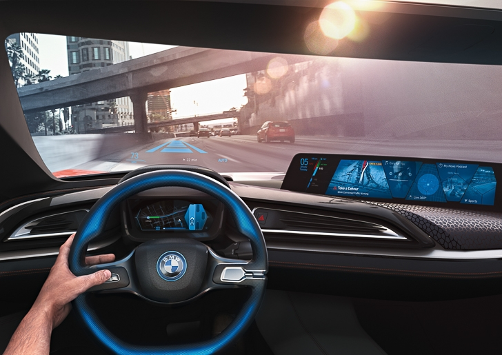 BMW i Vision Future Interaction 14