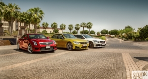 BMW M3 vs Cadillac ATS-V vs Mercedes-AMG C 63 S