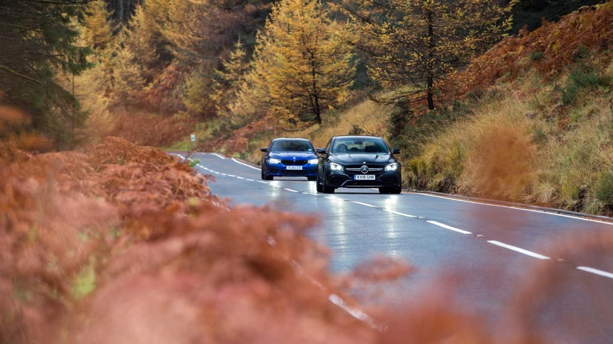 BMW-M5-v-Merc-E63-S-1