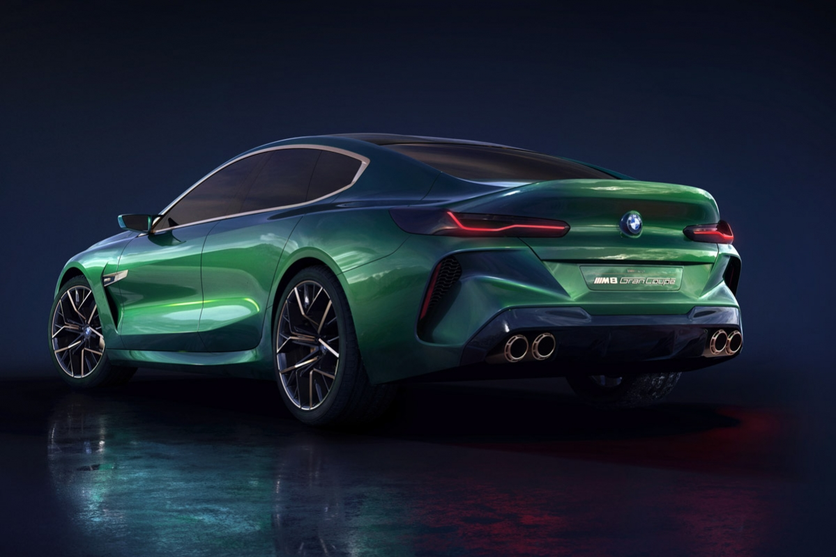bmw m8 gran coupe concept unveiled at geneva. Black Bedroom Furniture Sets. Home Design Ideas