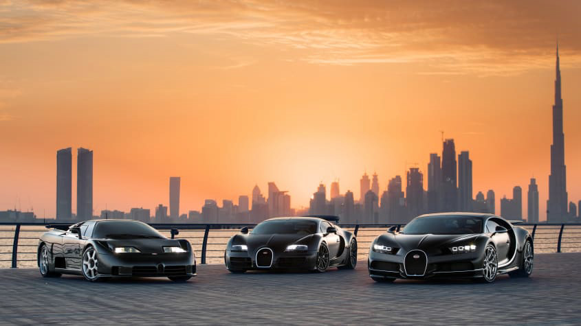 Bugatti-Chiron-Veyron-and-EB110-1