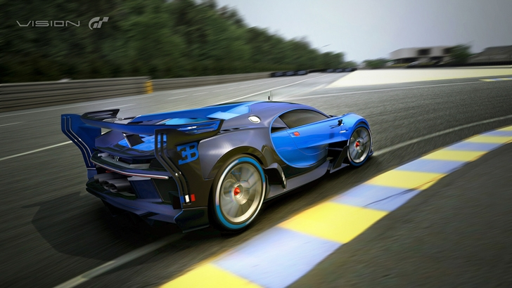Bugatti Vision Gran Turismo-5