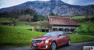 Cadillac ATS. European Road Trip