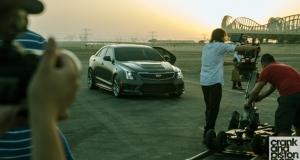 Cadillac ATS-V. Arriving Fashionably Early