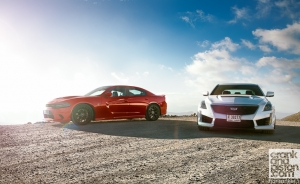 Cadillac CTS-V vs Dodge Charger SRT Hellcat