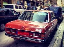 Aging Mercedes cab