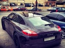 Visiting Porsche Panamera from Saudi