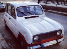 Hand-painted Renault 4