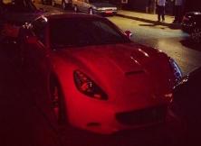 Midnight Ferrari California
