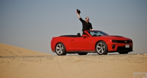 Chevrolet Camaro ZL1. Dubai, UAE