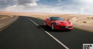 Corvette C7 Stingray. SEVEN epic roads