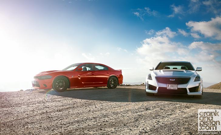 Cadillac CTS-V vs Dodge Charger SRT Hellcat - crankandpiston.com