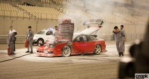 Drift UAE. S13 on Fire.