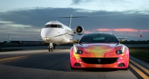Duaiv Lamborghini Aventador Roadster Ferrari FF