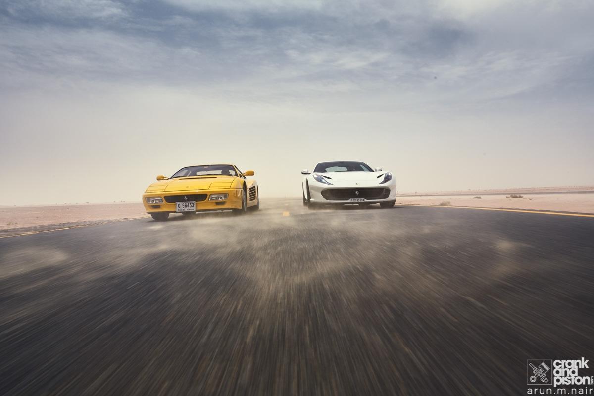 Driven Ferrari 512 Tr And Ferrari 812 Superfast