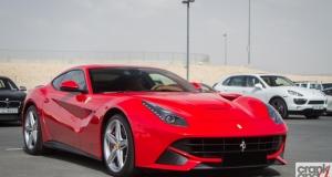 Ferrari F12berlinetta. Dubai, UAE