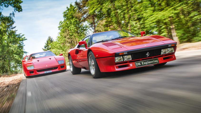 Ferrari-F40-vs-288-GTO-1