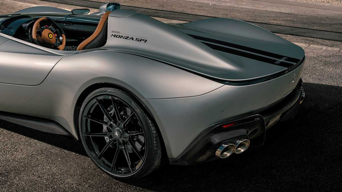 2m Ferrari Monza Sp1 And Sp2 Lifted To 832bhp By Novitec