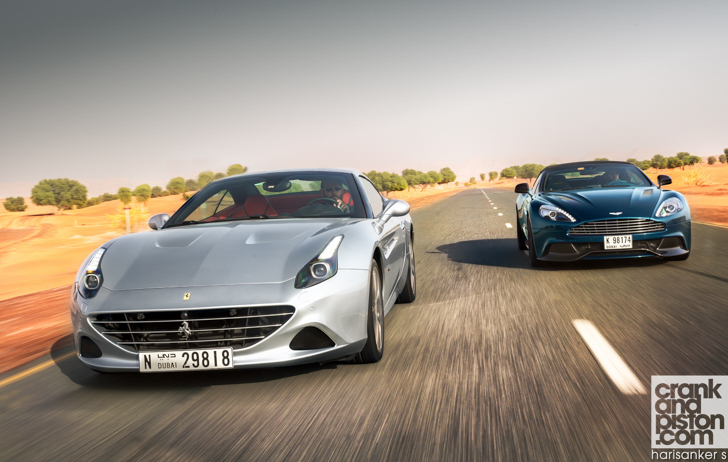 Ferrari California T Vs Aston Martin Vanquish Volante