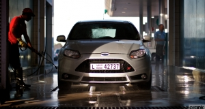 Ford Focus ST. Dubai. Into the Middle East at last. Bonkers