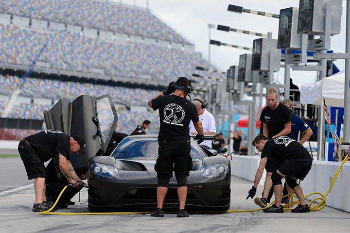 Ford Gt At Daytona  Jpg
