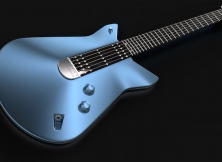 Inspired by Ford GT: Guitar