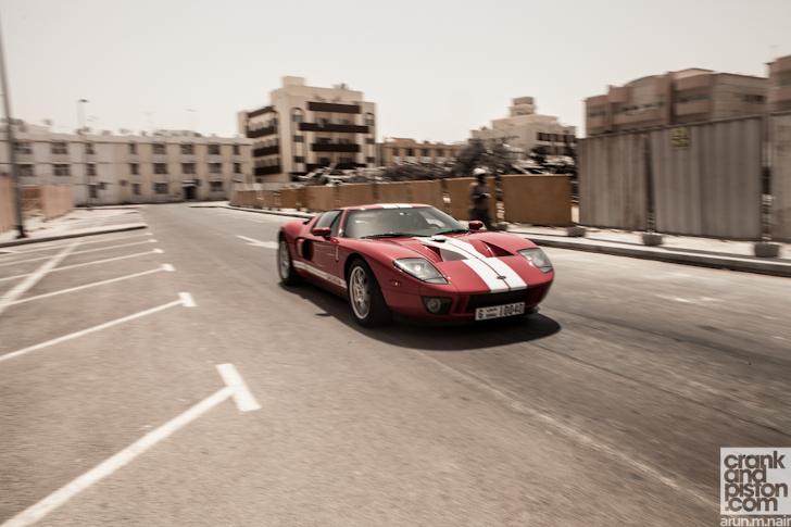 Ford Gt Nissan Gt R Dubai Uae Jpg
