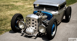 Ford Model A Coupe. Ridge Park Speed