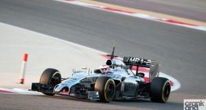 Formula 1. Bahrain Testing 2014