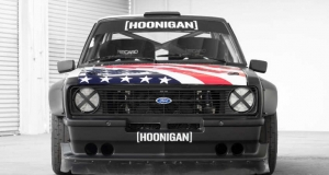 Hoonigan Racing. Gymkhana Ford Escort